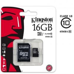 Kingston Micro SD 16gb CL10